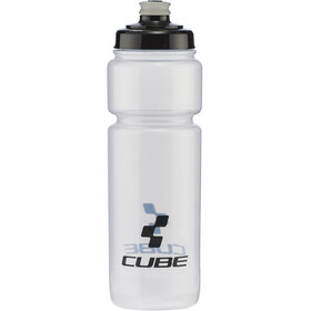 Cube Icon Drinking Bottle 750ml transparent